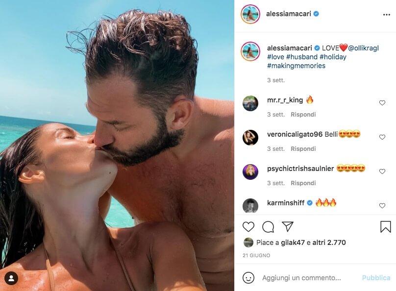 alessia macari instagram e marito oliver
