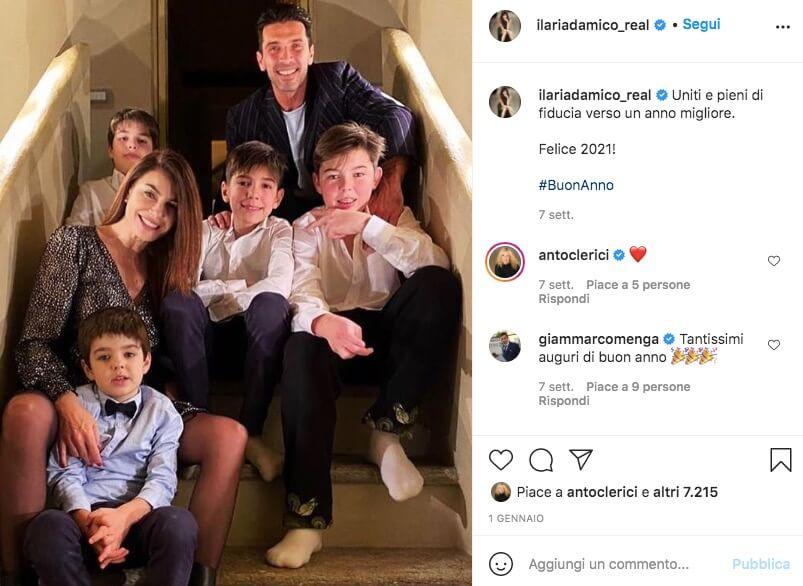 Ilaria D'Amico Instagram