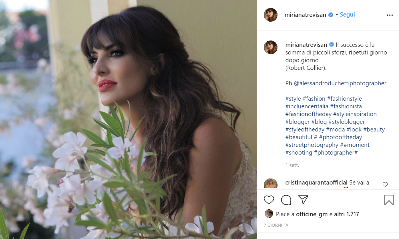 Miriana Trevisan Instagram