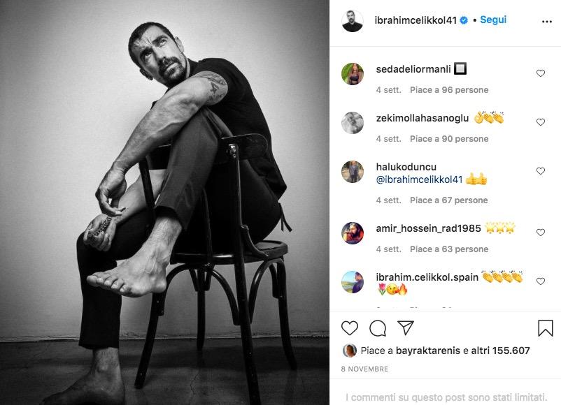 İbrahim Çelikkol instagram
