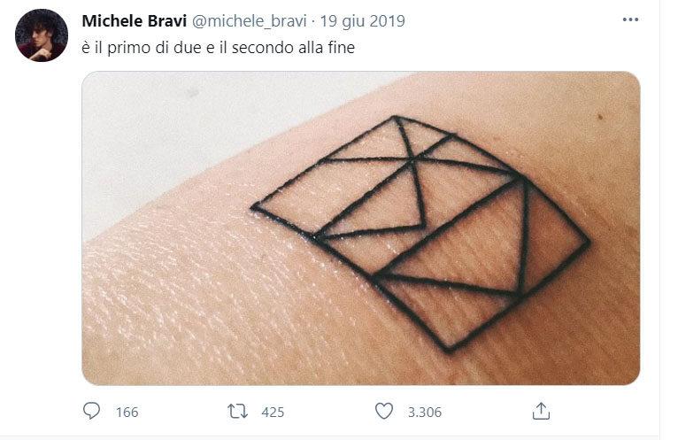 Michele Bravi Tatuaggi