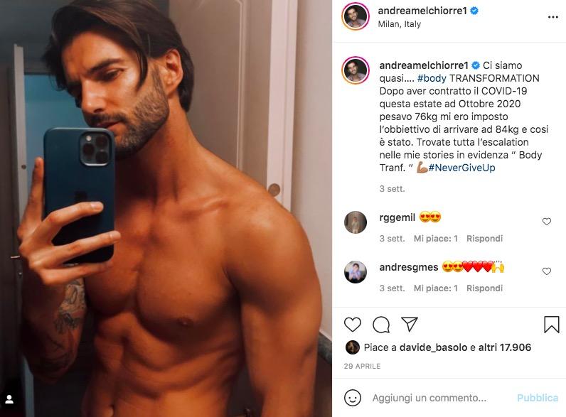 Andrea Melchiorre Instagram