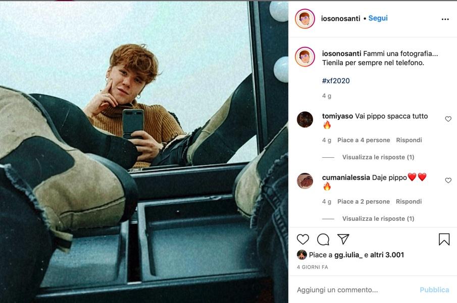 Filippo Santi Instagram