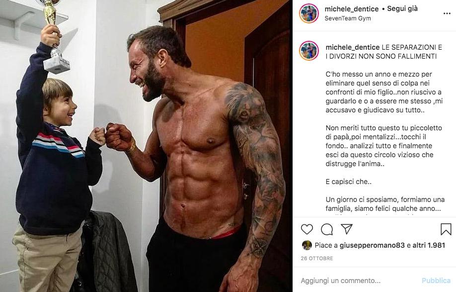 Michele uomini e Donne Instagram