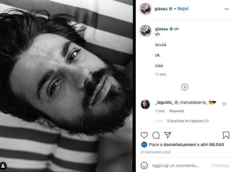 gianmarco saurino instagram
