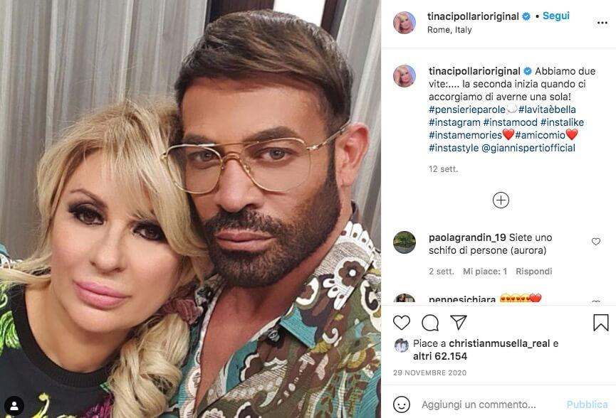 Tina Cipollari Instagram