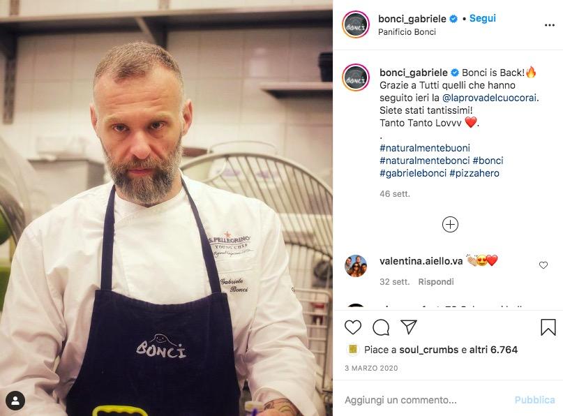 Gabriele Bonci Instagram