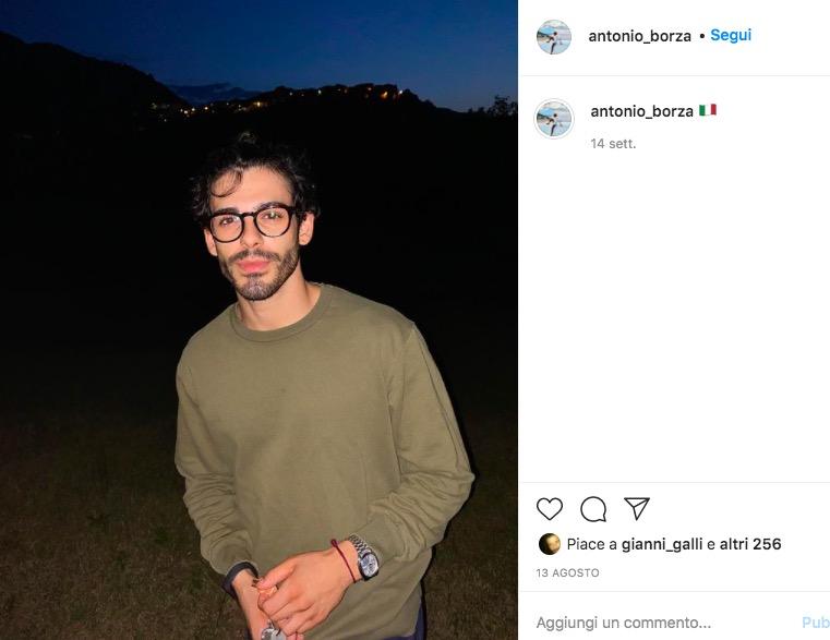 antonio corteggiatore sophie instagram