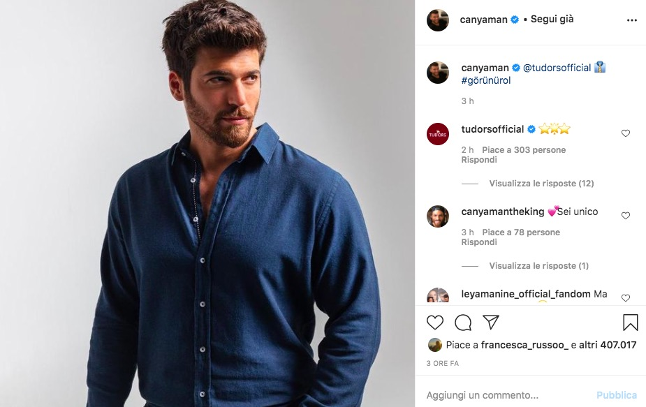 instagram can yaman