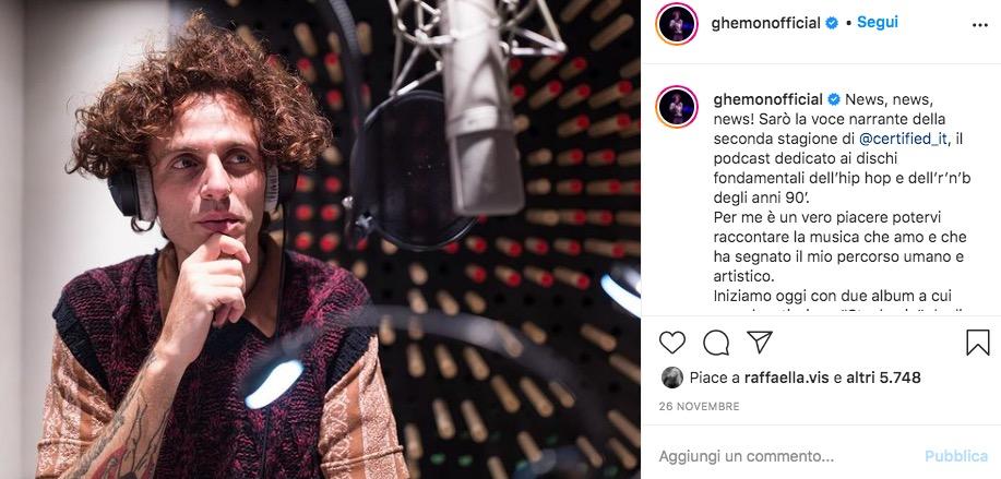ghemon cantante instagram
