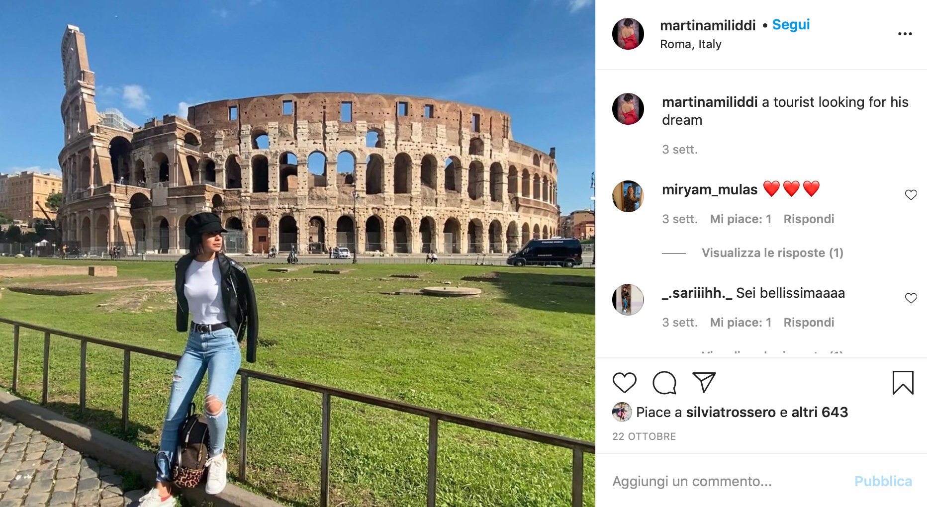 Martina Miliddi instagram