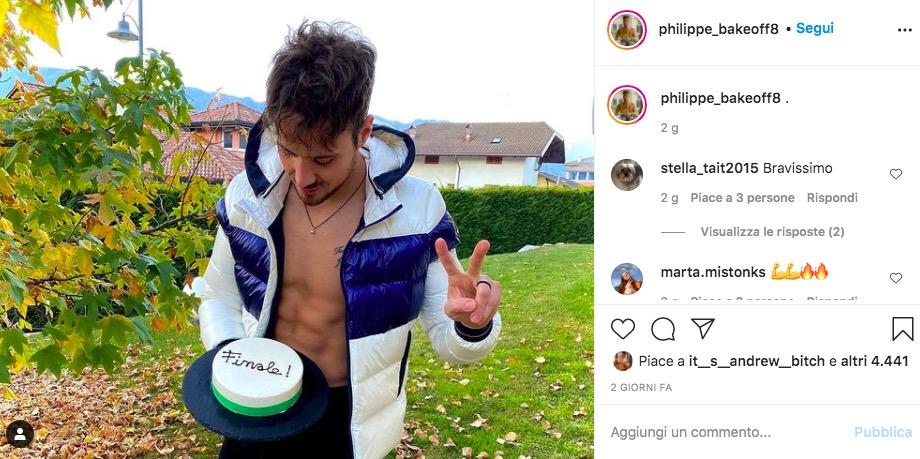 philippe bake off italia instagram