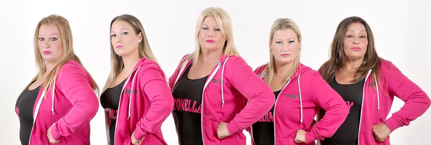 Le Paglionico: Chi Sono Antonella, Anna, Rosy, Veronica, Tiziana Ti Spazzo in Due Real Time