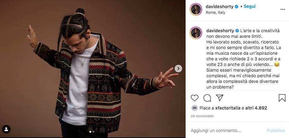 davide shorty amasanremo instagram