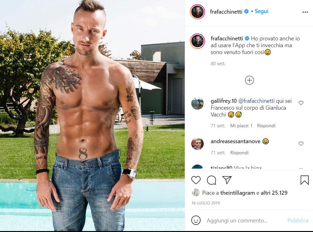Francesco Facchinetti Tatuaggi
