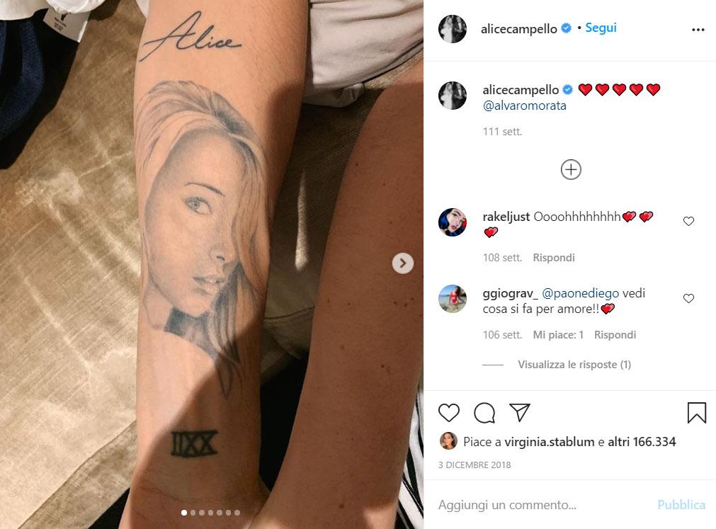 Tatuaggio Alice Camp