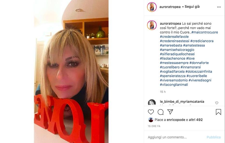 Aurora Uomini e Donne Instagram