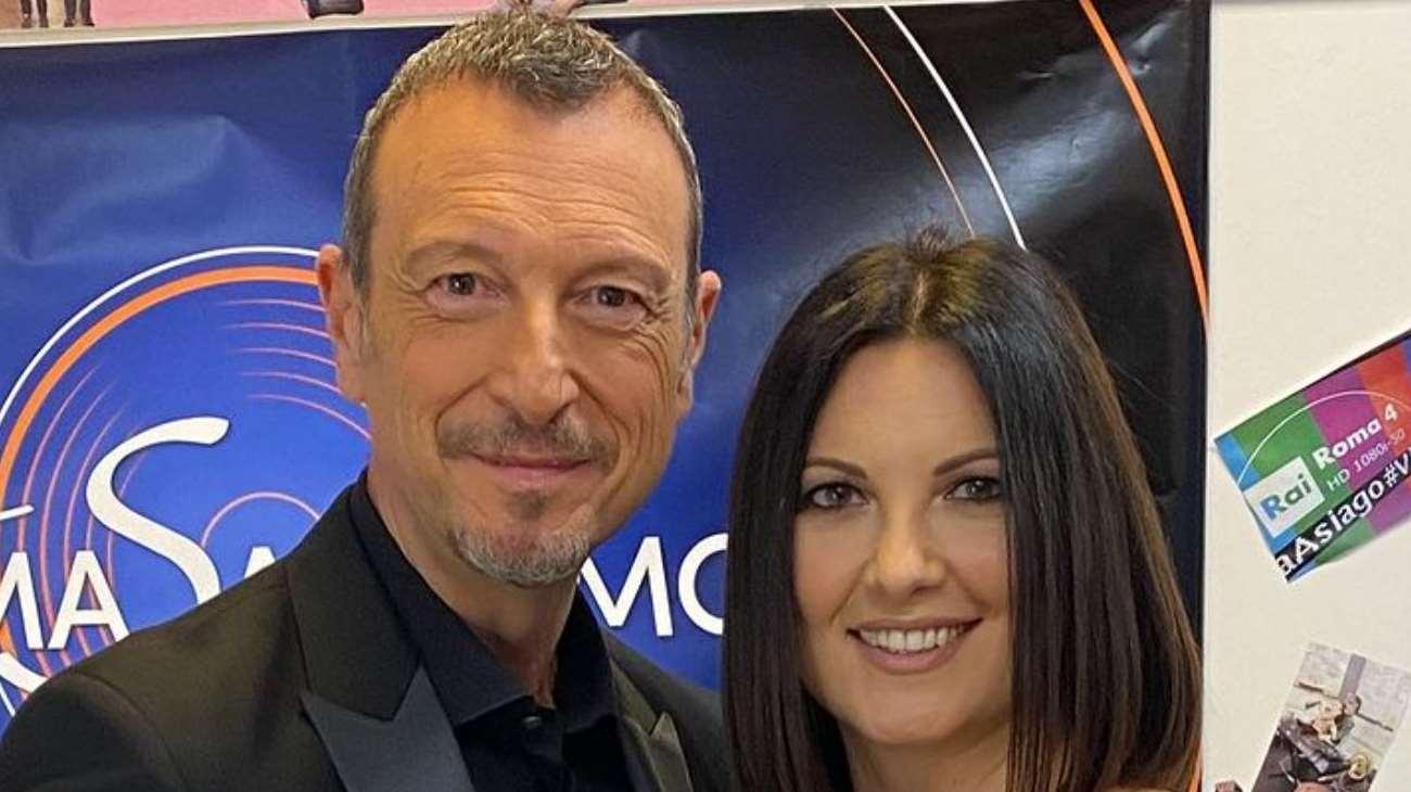 Chi è Giovanna Civitillo: Età, Figli, Moglie Amadeus, Instagram e Sanremo 2021