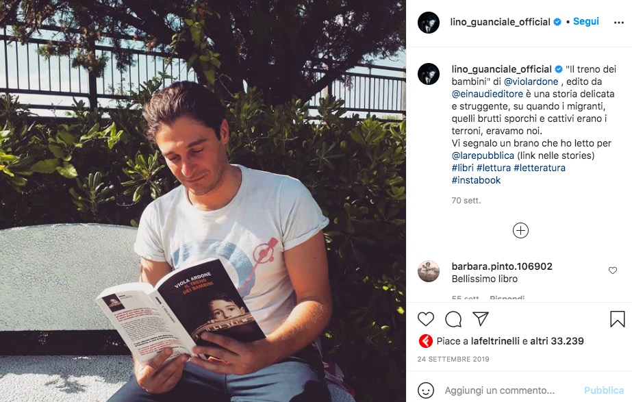 Lino Guanciale Instagram