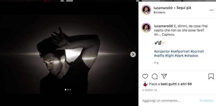 Luca Marini Secchione Instagram