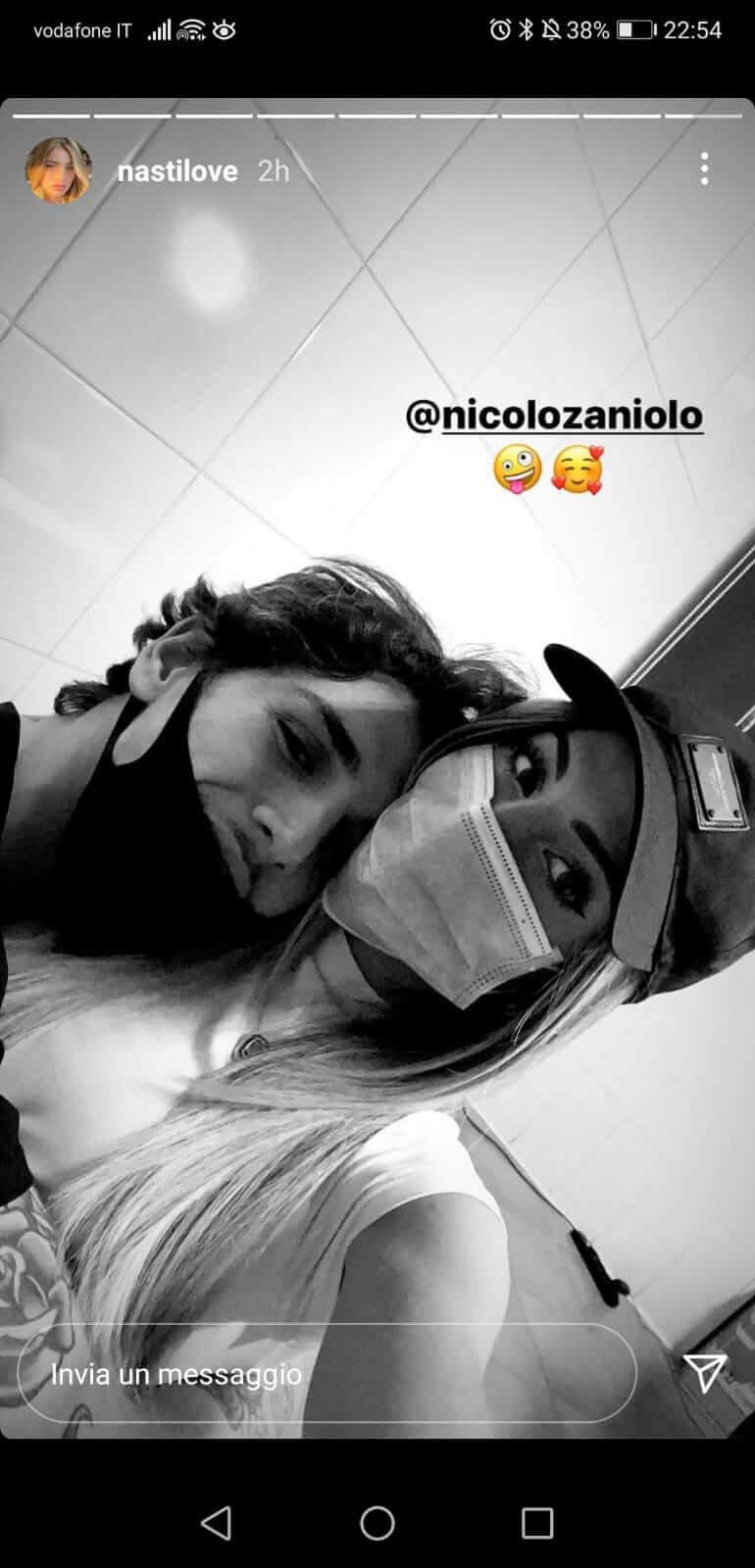 Nicolò Zaniolo e Chiara Nasti Fidanzati