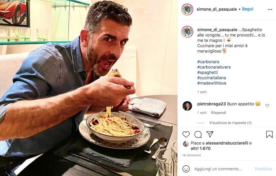 Simone di Pasquale Foto Instagram