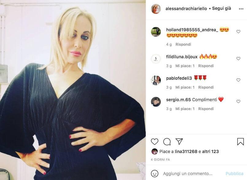 alessandra uomini e donne instagram