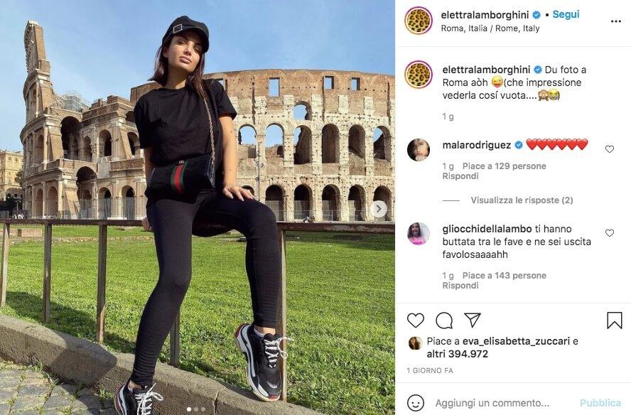 Elettra Lamborghini Instagram