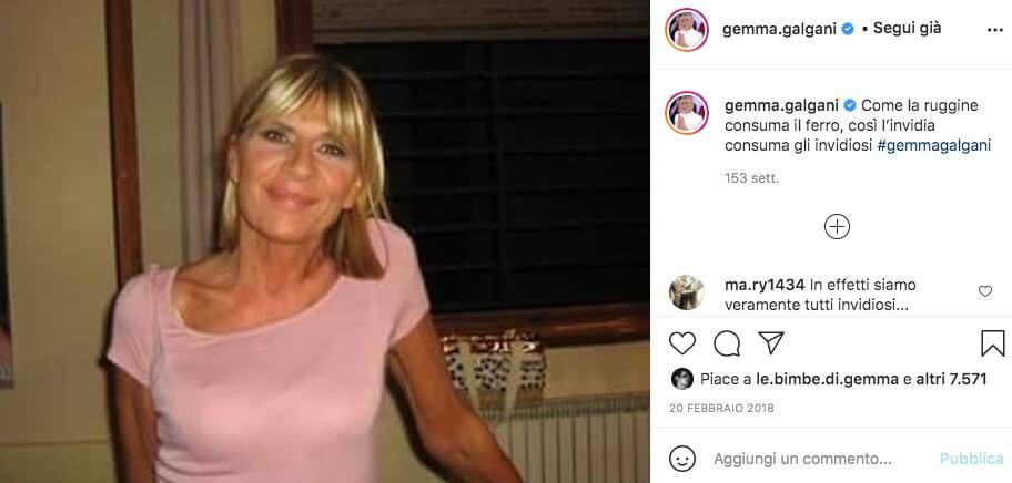 gemma galgani instagram foto