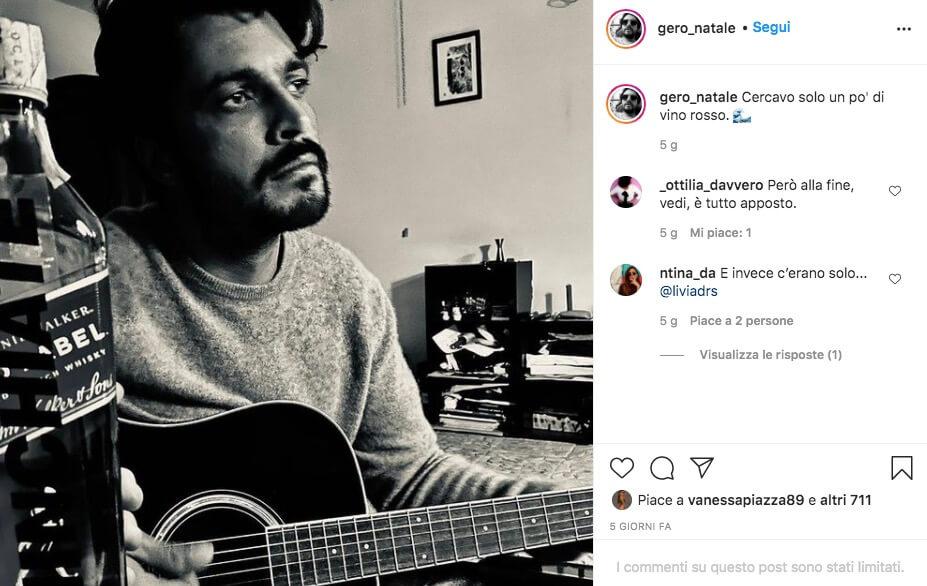 gero instagram uomini e donne