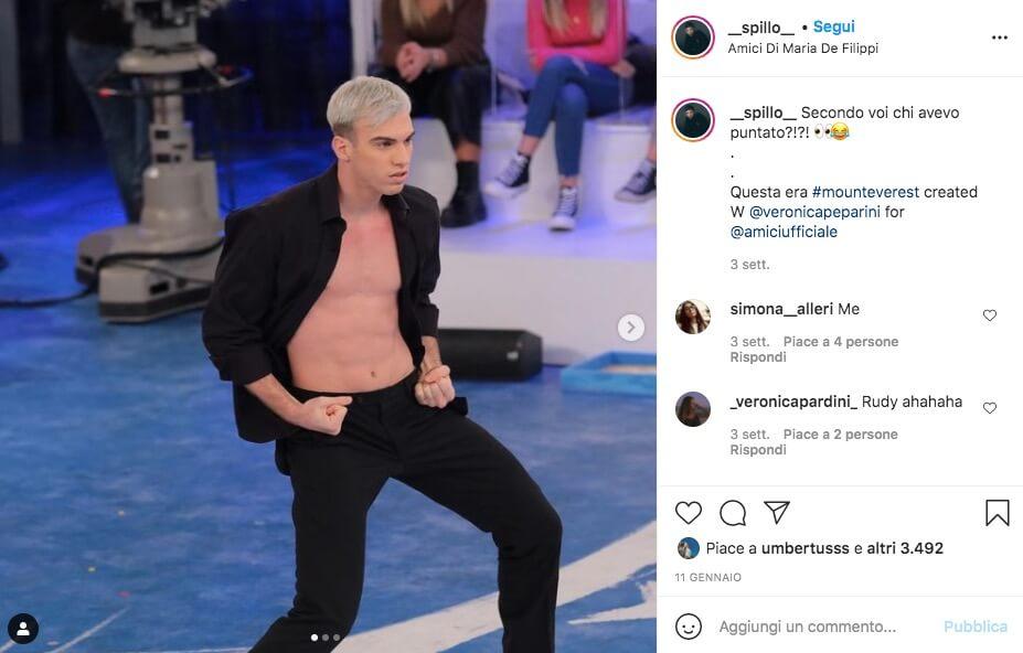 Spillo Ballerino Amici Instagram