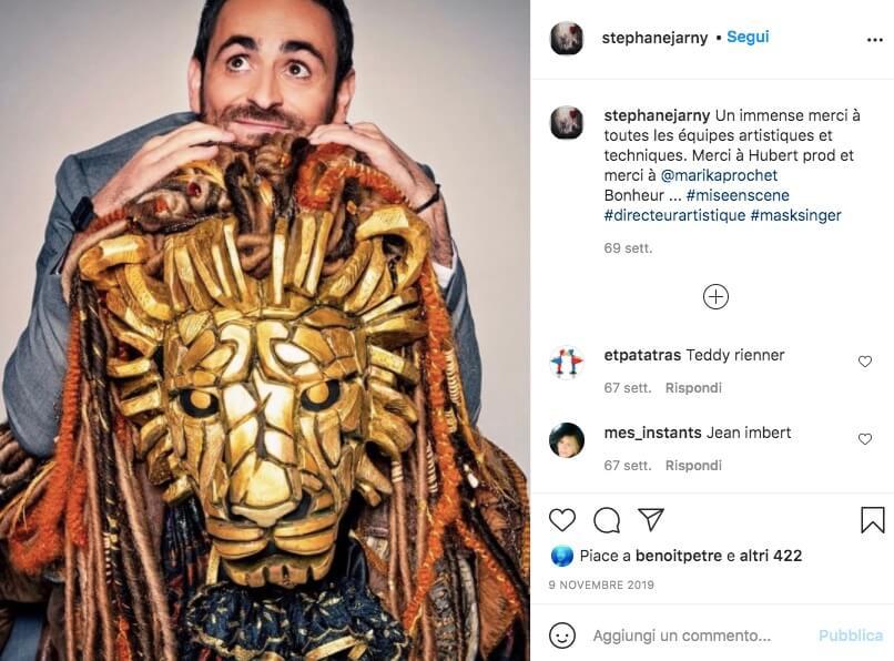 Stephane Jarny instagram