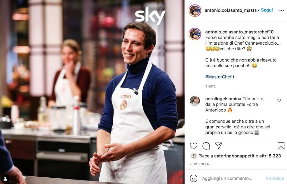 Antonio Colasanto Chef Instagram