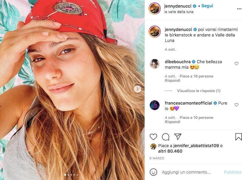 jenny de nucci instagram profilo