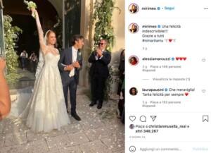 Miriam Leone Foto del Matrimonio con Paolo Carullo