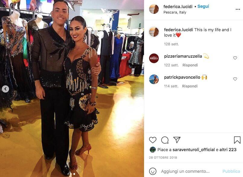 federica Lucidi instagram cognome