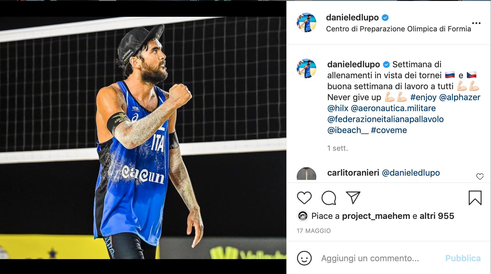Daniele Lupo Instagram
