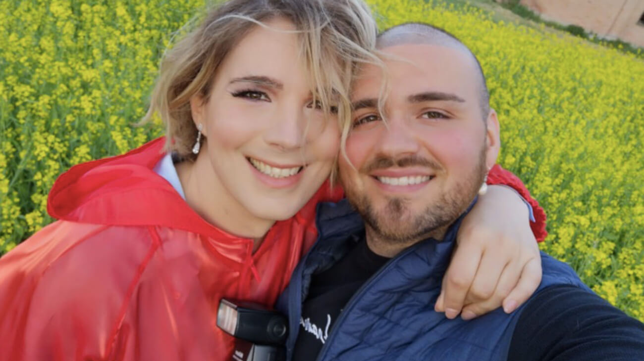 Chloe Facchini e il Fidanzato Maurizio