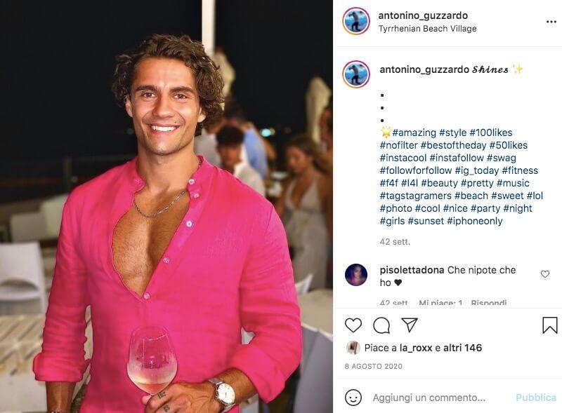 Antonino Love Island Instagram