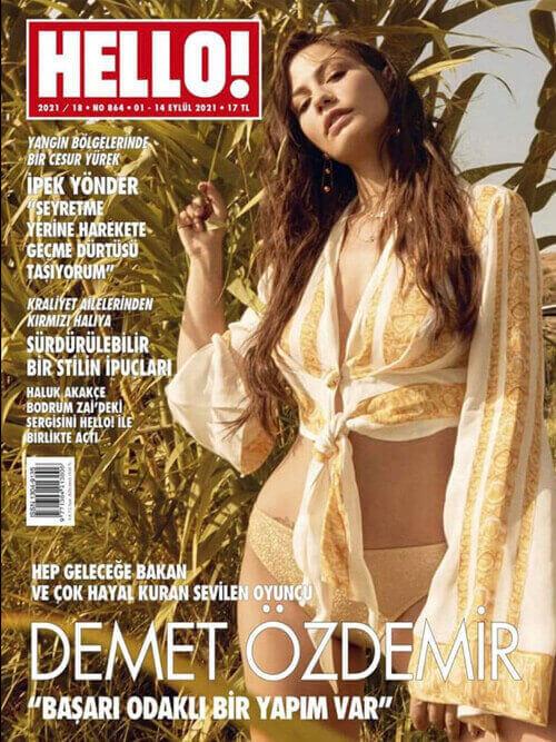 Demet Ozdemir copertina hello